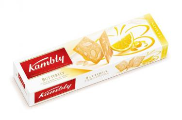 Kambly Butterfly Lemon, 12 Packungen à 100g