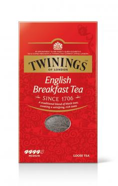 Twinings English Breakfast, 12 Packungen à 200g loser Tee