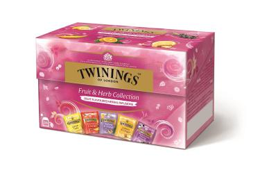 Twinings Fruit & Herb Collection, 8 Schachteln mit je 20 Beuteln