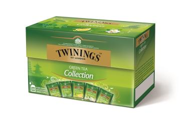 Twinings Green Tea Collection, 8 Schachteln mit je 20 Teebeuteln